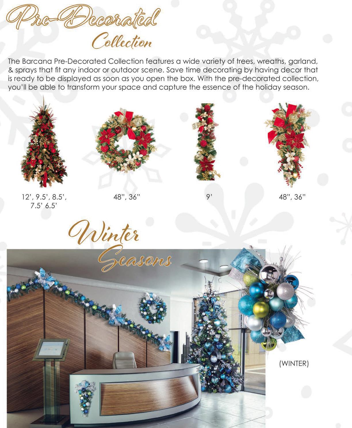 Images of the beautiful pre-decorated large Christmas wreaths